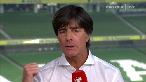Joachim Löw – post-match show – Ireland v Germany 38