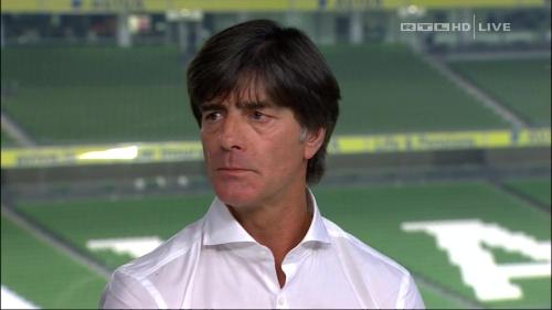 Joachim Löw – post-match show – Ireland v Germany 39