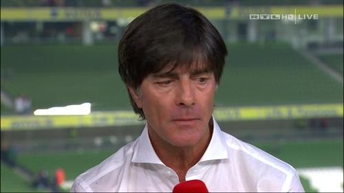 Joachim Löw – post-match show – Ireland v Germany 4