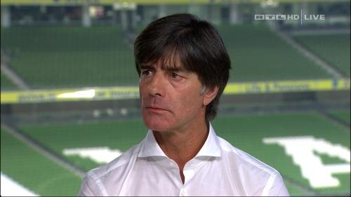 Joachim Löw – post-match show – Ireland v Germany 41