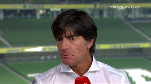 Joachim Löw – post-match show – Ireland v Germany 44