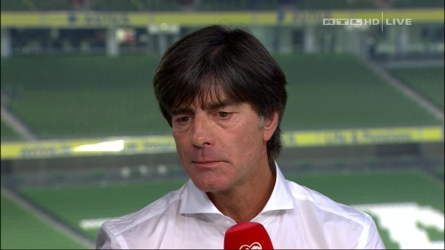 Joachim Löw – post-match show – Ireland v Germany 45