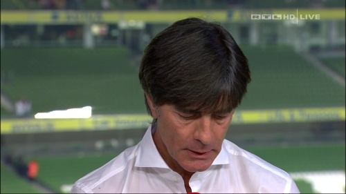 Joachim Löw – post-match show – Ireland v Germany 5