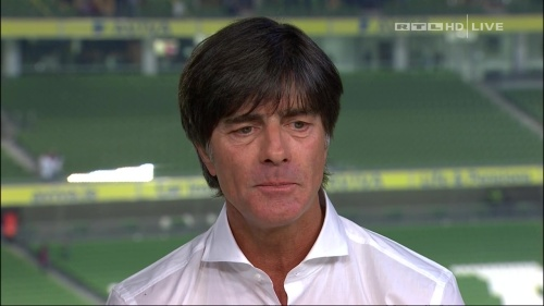 Joachim Löw – post-match show – Ireland v Germany 6