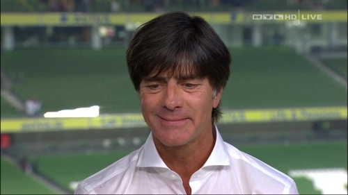 Joachim Löw – post-match show – Ireland v Germany 7