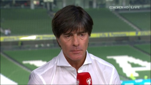 Joachim Löw – post-match show – Ireland v Germany 9