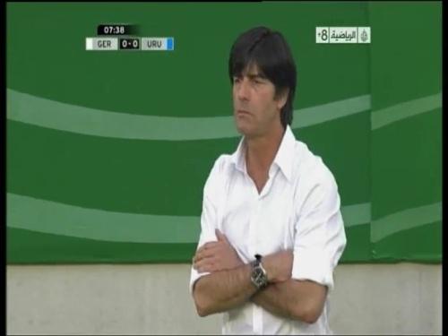 Joachim Löw - Germany v Uruguay 1