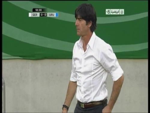 Joachim Löw - Germany v Uruguay 10