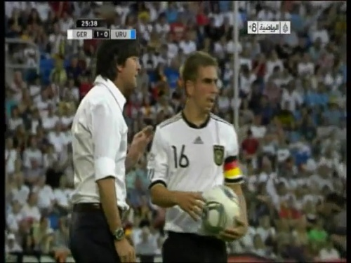 Joachim Löw - Germany v Uruguay 11