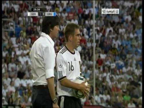 Joachim Löw - Germany v Uruguay 12