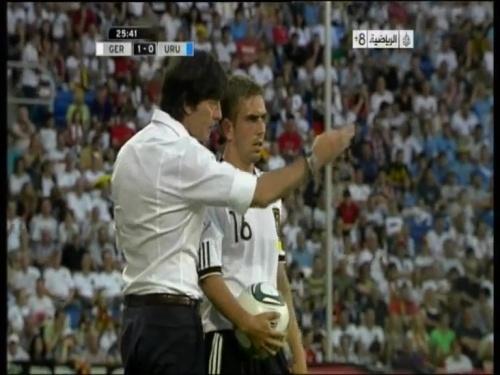 Joachim Löw - Germany v Uruguay 13
