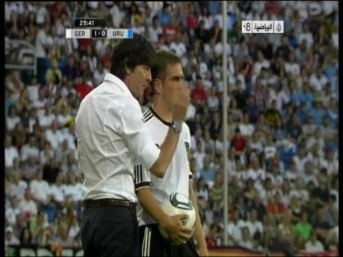 Joachim Löw - Germany v Uruguay 14
