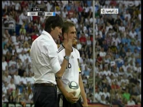 Joachim Löw - Germany v Uruguay 15