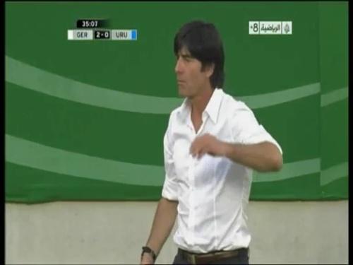Joachim Löw - Germany v Uruguay 17