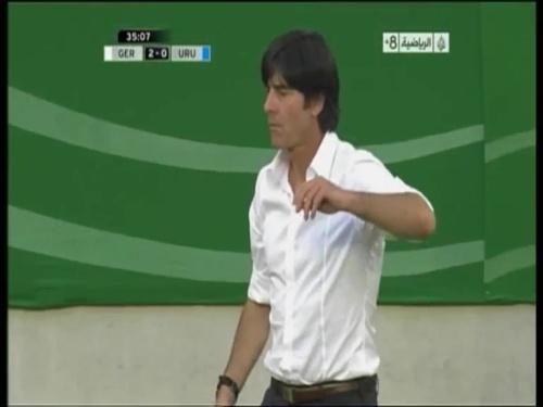 Joachim Löw - Germany v Uruguay 18