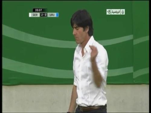 Joachim Löw - Germany v Uruguay 19