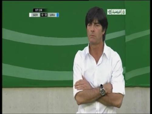 Joachim Löw - Germany v Uruguay 2