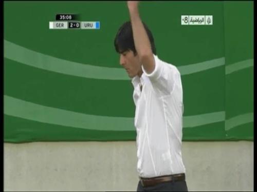 Joachim Löw - Germany v Uruguay 20