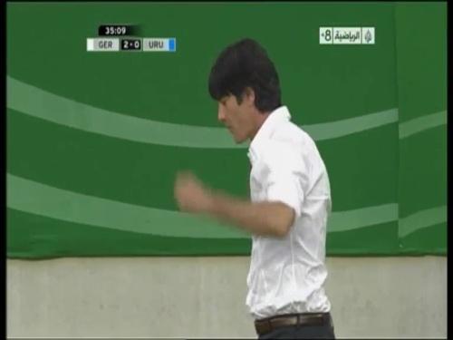 Joachim Löw - Germany v Uruguay 21