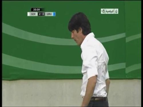 Joachim Löw - Germany v Uruguay 22