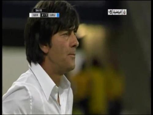 Joachim Löw - Germany v Uruguay 23