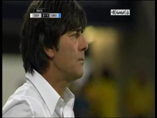 Joachim Löw - Germany v Uruguay 24