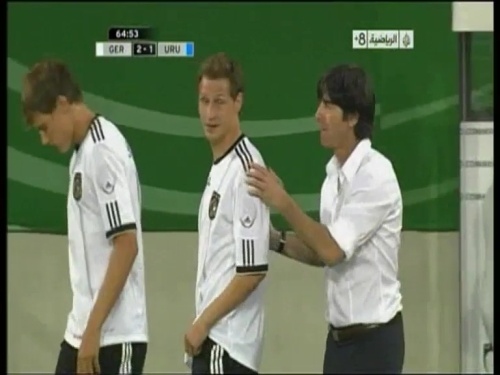 Joachim Löw - Germany v Uruguay 27