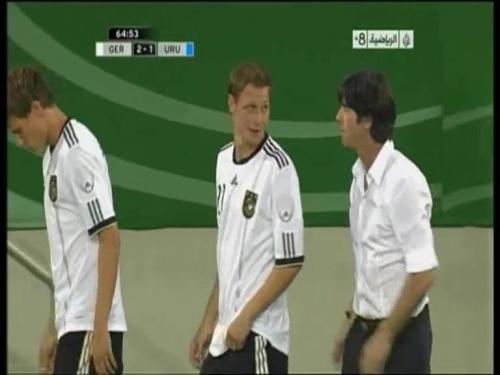Joachim Löw - Germany v Uruguay 28