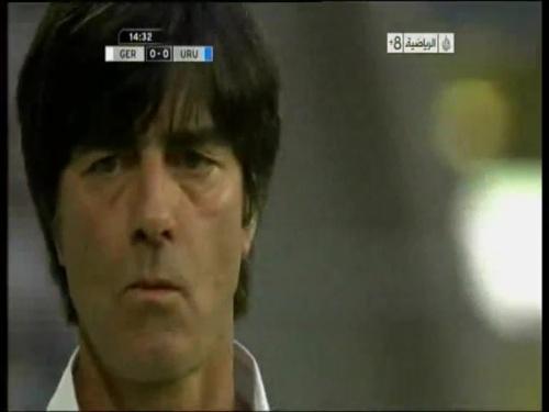 Joachim Löw - Germany v Uruguay 3