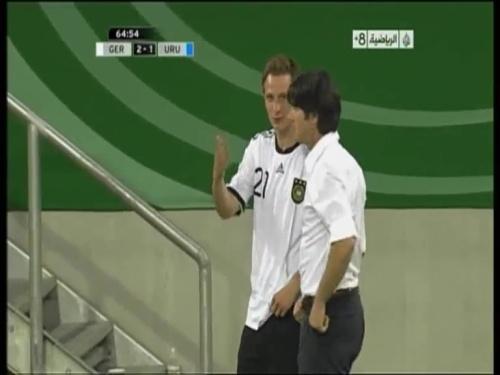 Joachim Löw - Germany v Uruguay 30