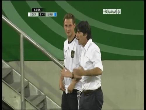 Joachim Löw - Germany v Uruguay 31
