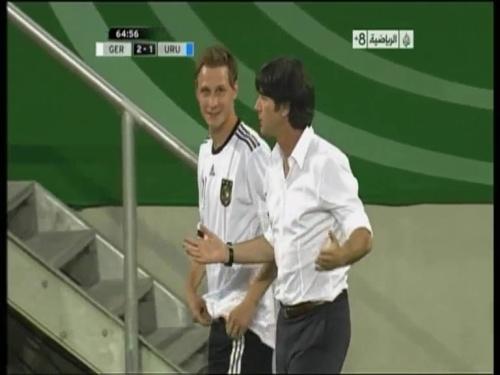 Joachim Löw - Germany v Uruguay 32