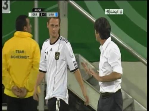 Joachim Löw - Germany v Uruguay 33