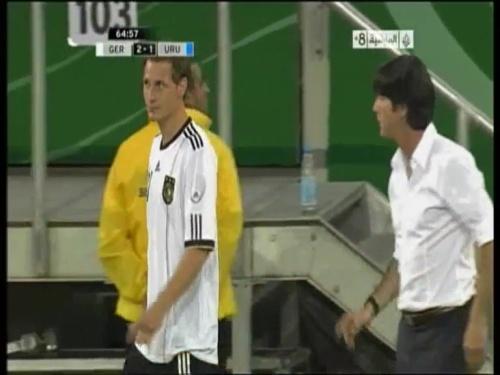 Joachim Löw - Germany v Uruguay 34