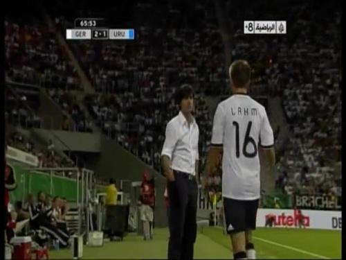 Joachim Löw - Germany v Uruguay 35