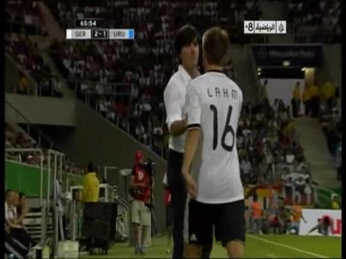 Joachim Löw - Germany v Uruguay 36