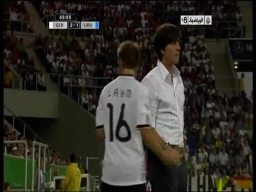 Joachim Löw - Germany v Uruguay 37