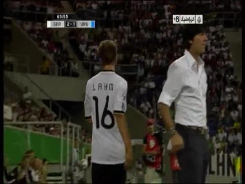 Joachim Löw - Germany v Uruguay 38