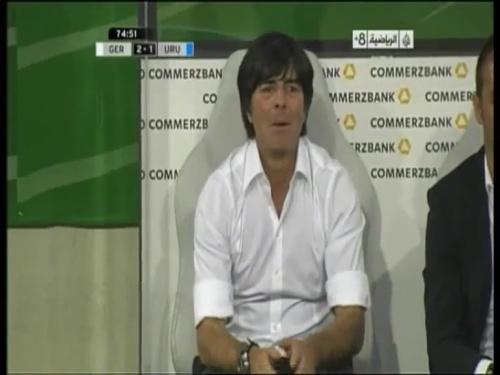 Joachim Löw - Germany v Uruguay 39