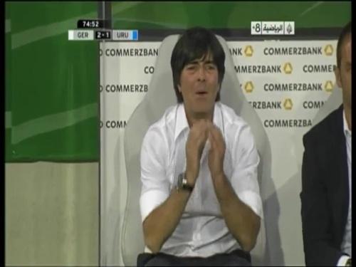 Joachim Löw - Germany v Uruguay 40
