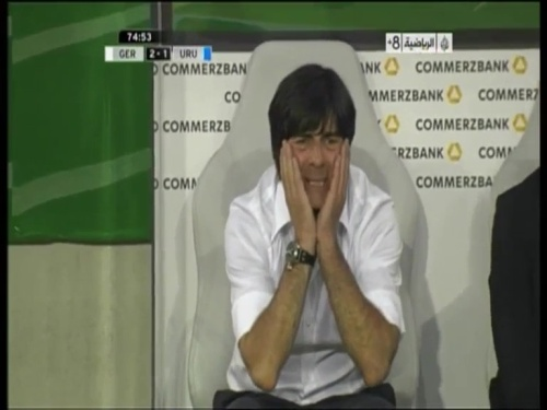 Joachim Löw - Germany v Uruguay 41