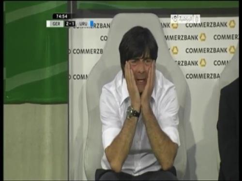 Joachim Löw - Germany v Uruguay 42