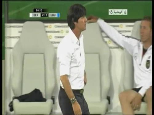 Joachim Löw - Germany v Uruguay 43