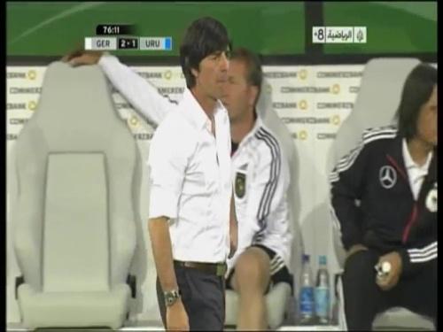 Joachim Löw - Germany v Uruguay 44