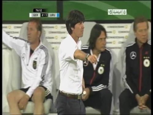 Joachim Löw - Germany v Uruguay 45