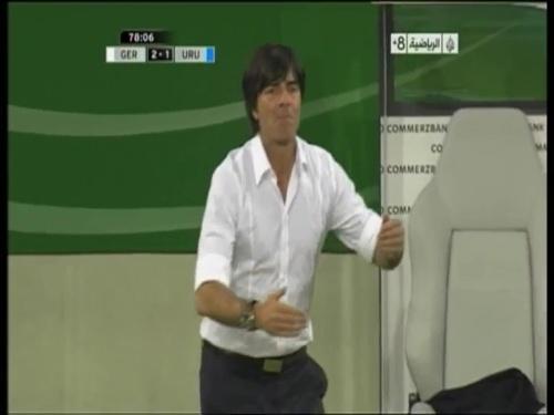 Joachim Löw - Germany v Uruguay 48