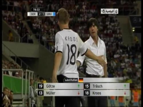 Joachim Löw - Germany v Uruguay 49