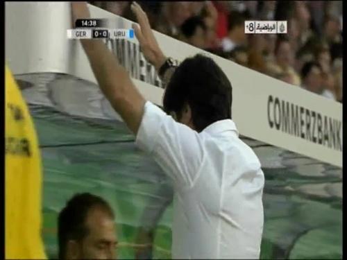Joachim Löw - Germany v Uruguay 5