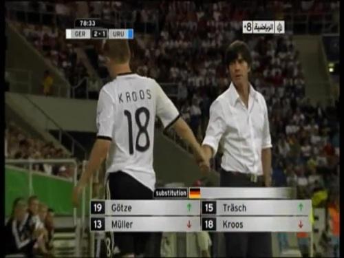 Joachim Löw - Germany v Uruguay 50