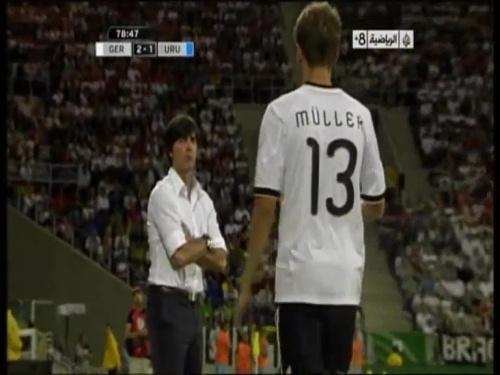Joachim Löw - Germany v Uruguay 51
